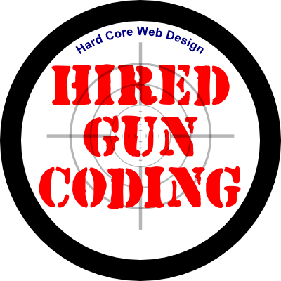 Hired Gun Coding - Really good web designs